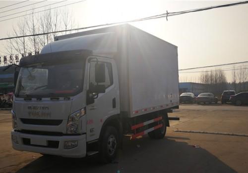 上汽跃进国六C500自动档4米2冷藏车价格