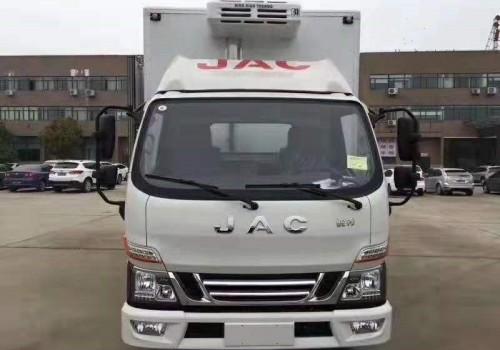 江淮骏铃国六4米2冷藏车价格
