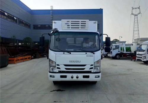 五十铃KV100国六4米2冷藏车价格