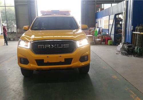 国六上汽大通4驱皮卡工程救险车