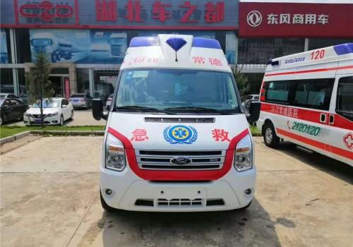 江铃全顺V348监护型救护车价格