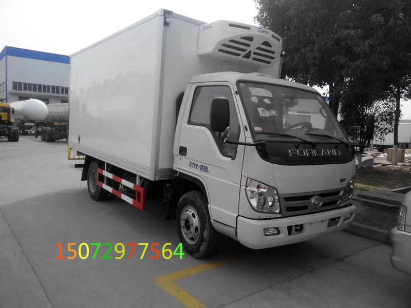 福田时代4米2冷藏车