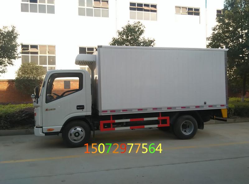 江淮帅铃宽体4米2冷藏车