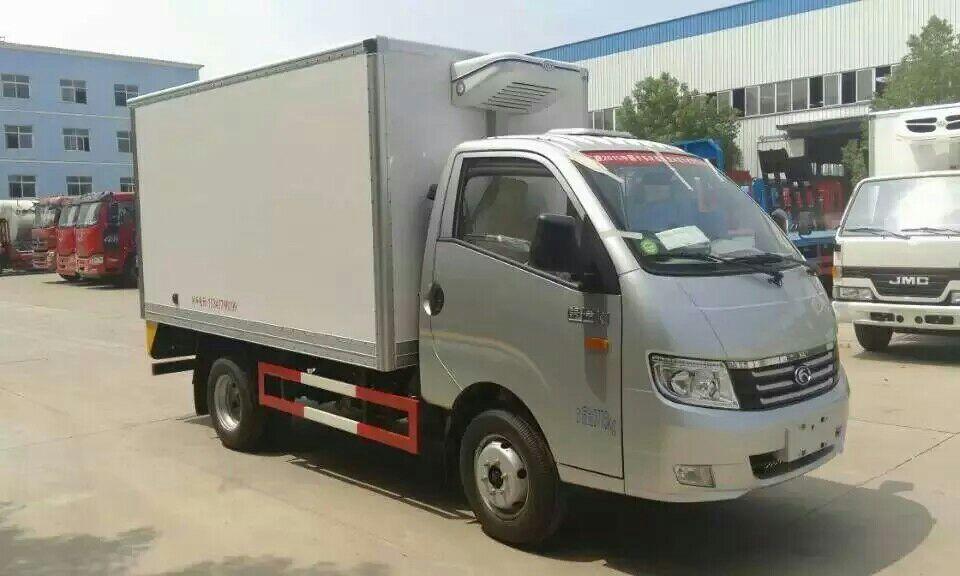 福田康瑞小型柴油冷藏车