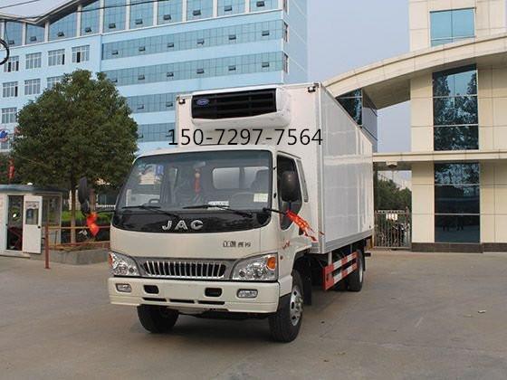 江淮骏铃5米2冷藏车