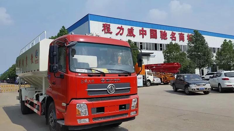 东风天锦国五20方散装饲料车