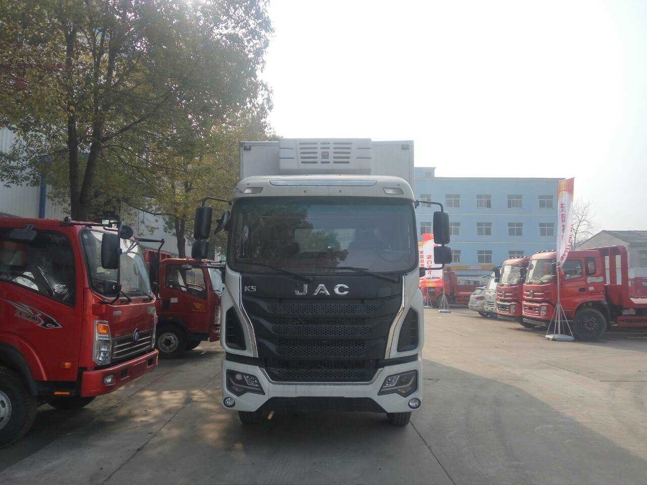 江淮国五7米6冷藏车