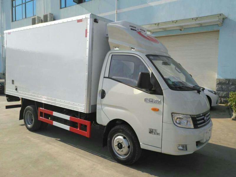 福田KQ1国五3米5冷藏车