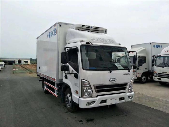 四川现代盛图国五4米2冷藏车冷藏车