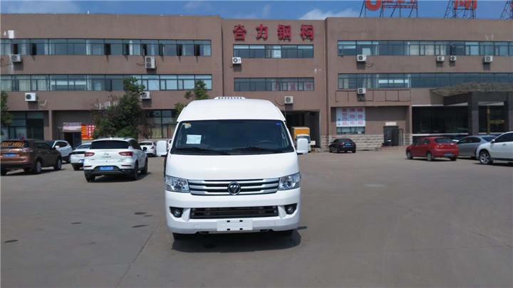 福田风景G9国五面包冷藏车