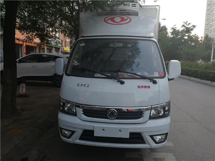 东风途逸国五3米5冷藏车
