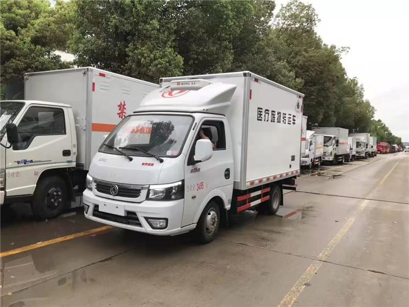 东风途逸国六3米3医疗废物转运车