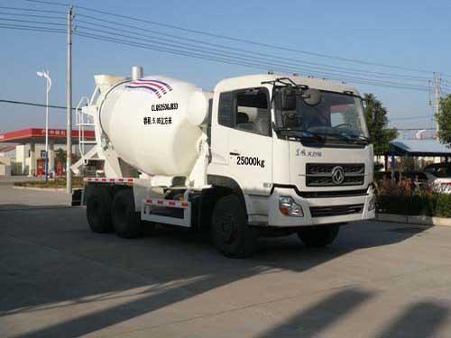程力威牌CLQ5250GJB3D型混凝土搅拌运输车