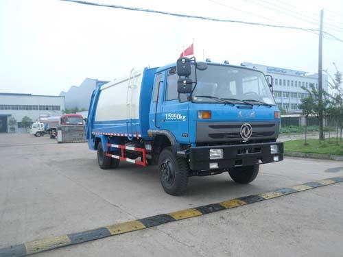 程力威牌CLQ5161ZYSE4型压缩式垃圾车