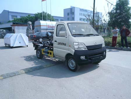 程力威牌CLQ5020ZXXSC4型车厢可卸式垃圾车