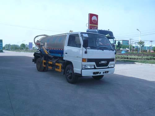 程力威牌CLQ5060GXW4JX型吸污车