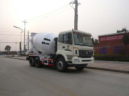 程力威牌CLQ5250GJB3BJ型混凝土搅拌运输车