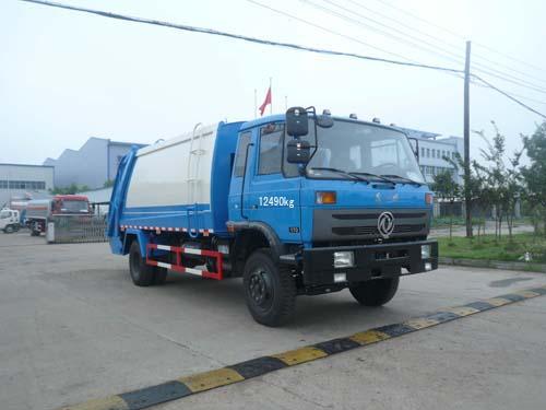 程力威牌CLQ5120ZYS4型压缩式垃圾车