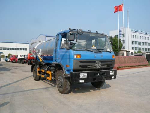 程力威牌CLQ5120GXW4型吸污车