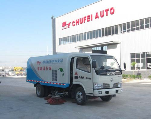 程力威牌CLQ5070TSL4型扫路车
