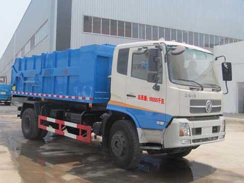 程力威牌CLQ5160ZLJ4D型自卸式垃圾车