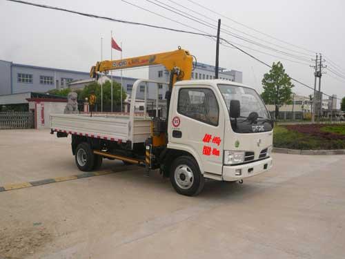 程力威牌CLQ5040JSQ4型随车起重运输车