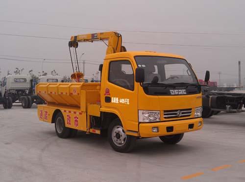 程力威牌CLQ5040TQY4型清淤车