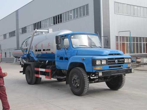 程力威牌CLQ5110GXW4型吸污车