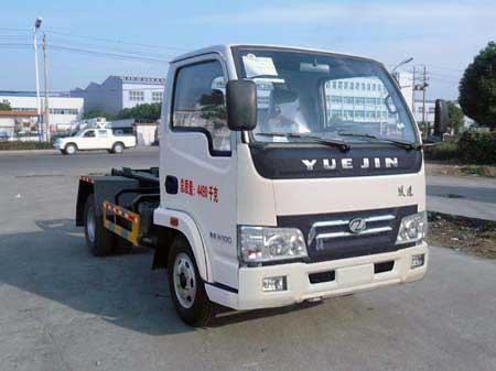程力威牌CLQ5040ZXX4NJ型车厢可卸式垃圾车