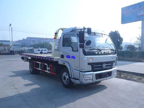 程力威牌CLQ5080TQZ4NJ型清障车