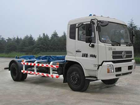 程力威牌CLQ5160ZXX4D型车厢可卸式垃圾车