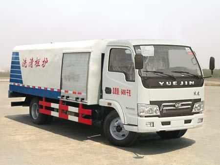 程力威牌CLQ5060GQX4NJ型护栏清洗车