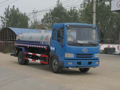 程力威牌CLW5160GSSC4型洒水车