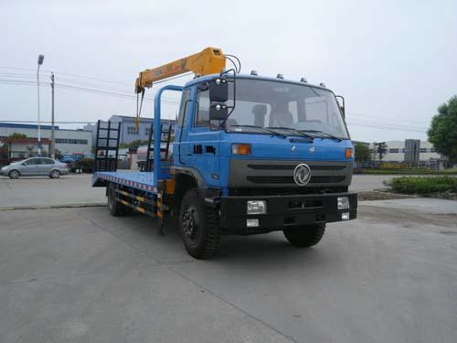 程力威牌CLQ5161JSQ4型随车起重运输车