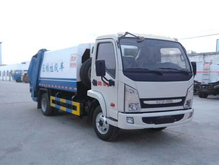 程力威牌CLQ5070ZYS4NJ型压缩式垃圾车