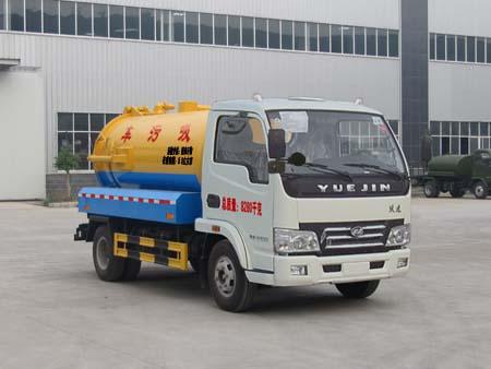 程力威牌CLQ5080GXW4NJ型吸污车