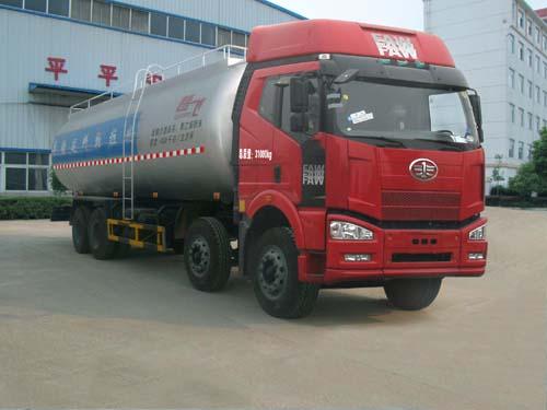 程力威牌CLQ5310GFL4CA型低密度粉粒物料运输车