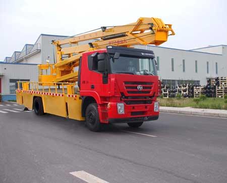 程力威牌CLQ5160JGK4CQ型高空作业车