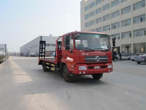程力威牌CLQ5120TPB4D型平板运输车