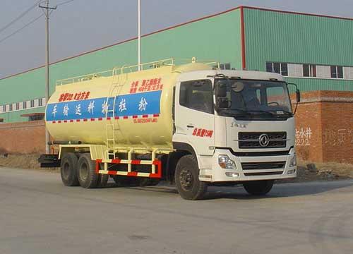程力威牌CLQ5250GFL4D型低密度粉粒物料运输车