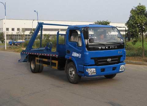 程力威牌CLQ5080ZBS4NJ型摆臂式垃圾车