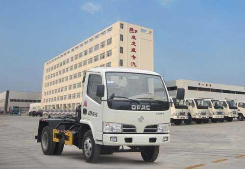 程力威牌CLQ5070ZXX4型车厢可卸式垃圾车