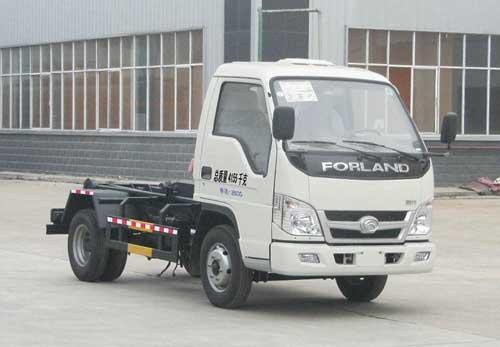 程力威牌CLQ5040ZXX4BJ型车厢可卸式垃圾车