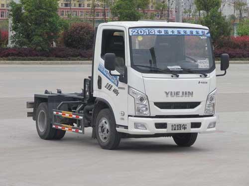 程力威牌CLQ5041ZXX4NJ型车厢可卸式垃圾车