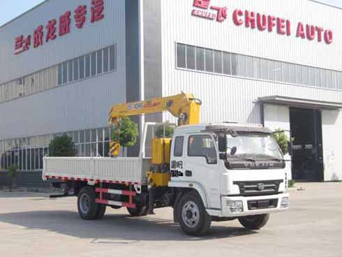 程力威牌CLQ5150JSQ4NJ型随车起重运输车