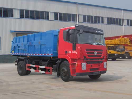 程力威牌CLQ5160ZLJ4CQ型自卸式垃圾车