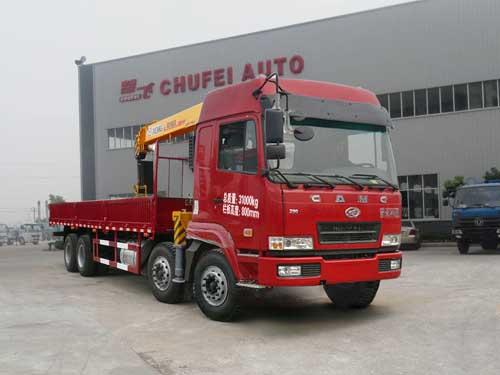 程力威牌CLQ5310JSQ4HN型随车起重运输车