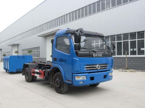 程力威牌CLQ5080ZXX4型车厢可卸式垃圾车