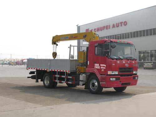 程力威牌CLQ5160JSQ4HN型随车起重运输车