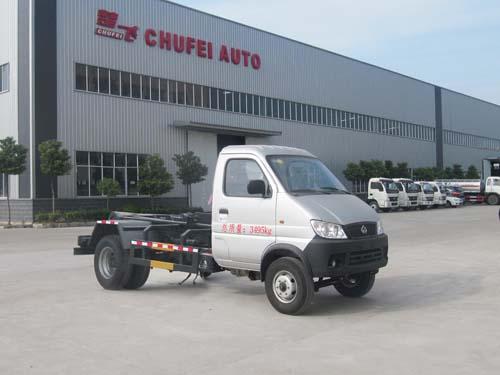 程力威牌CLQ5030ZXX4SC型车厢可卸式垃圾车